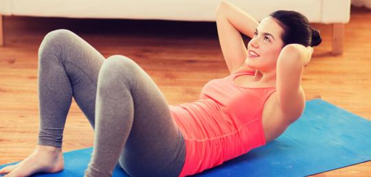 Cvičení doma, stačí 10 minut denně !