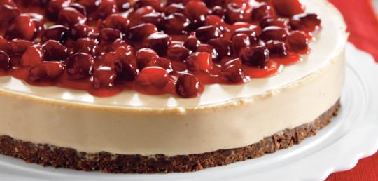 Zdravé pečení: Třešňový cheesecake