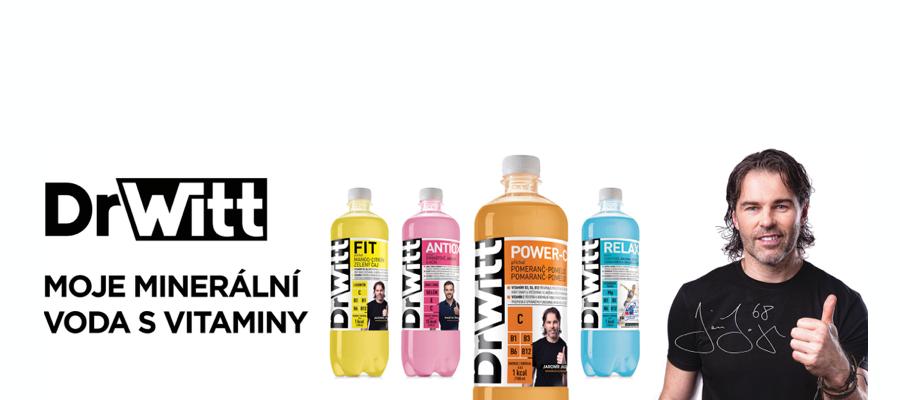 Minerální vody plné vitaminů DrWitt!