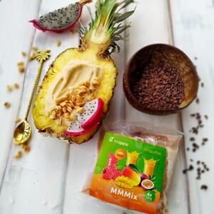 Foto ü.3 Smoothie bowl v ananasu
